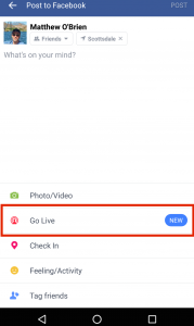 Facebook live - Live Video Tools Tips
